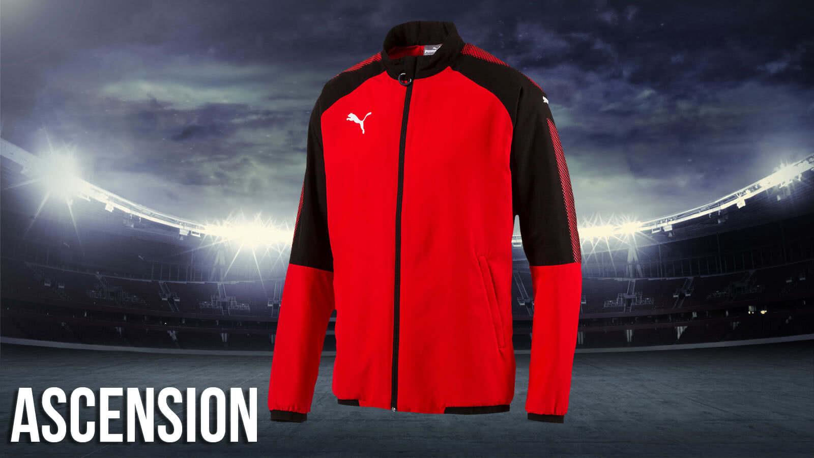 Mit der Puma Ascension Teamline bestellst du Puma Sportbekleidung wie diese die Profis tragen.