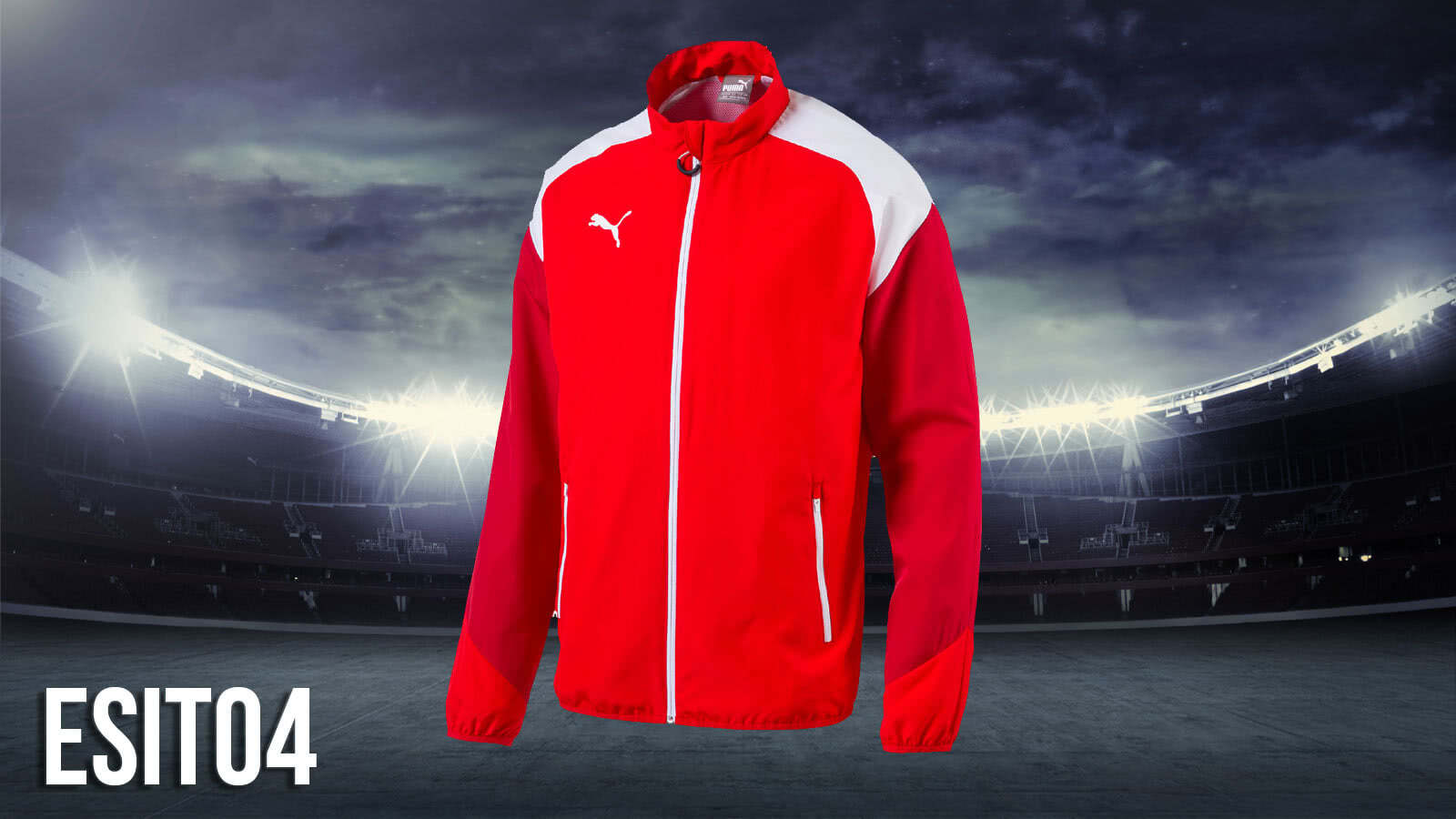 Bestell die Puma Esito 4 Teamline vom Präsentationsanzug bis zum einzelnen T-Shirt im Shop
