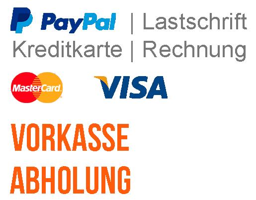 Die Sport Shop Greifenberg Zahlungsarten mit Paypal und Rechnung sowie Überweisung und Vorkasse.